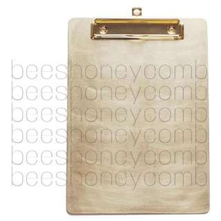Coming Soon! No.11 Brass Clip Board With Retractable Eye Hole Hook