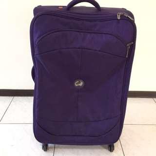 【Delsey 法國大使】極輕 軟箱 U-Lite CLASSIC系列 29吋行李箱紫色
