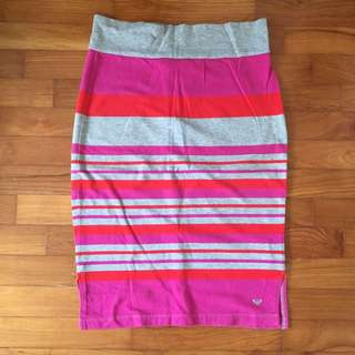 Roxy Cotton Pencil Skirt XS - S