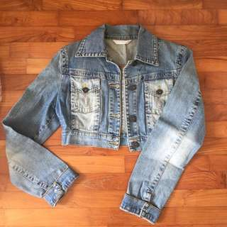 Cropped Jeans Jacket S