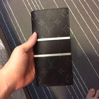 LV X Fragment Long Wallet