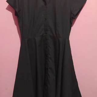 Lookboutiquestore Dress Hitam