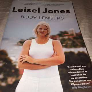 Swimming Book Biography Leisel Jones Body Lengths