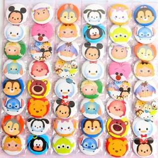 Mystery Grab Bag: Tsum Tsum Inspired Button Badges