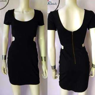 Black Sleeved Dress