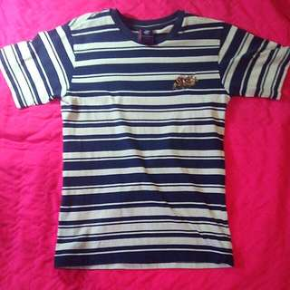 BEVERLY HILLS POLO CLUB BLUE STRIPES TSHIRT