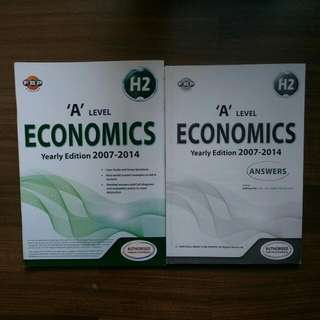 'a' level economics yearly edition H2 TYS