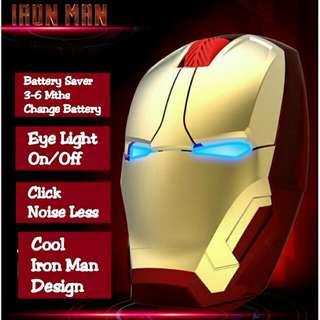 Iron Man Wireless Mouse Nano 2.4Ghz