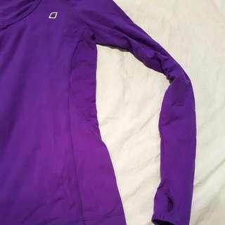 LORNA JANE Royal Purple Layering Top Size 6/8