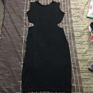 SUPERSALE - Black Longdress