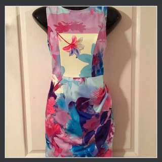 Colourful Cocktail Dress