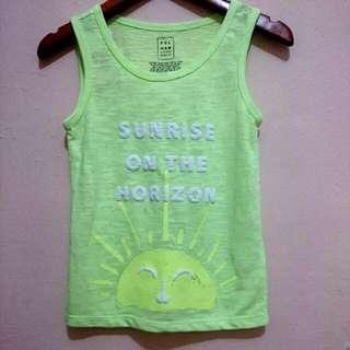 Sleeveless Shirt / Kaos Kutung Merk Polham