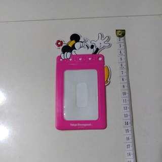 日本 Tokyo Disneyland 米妮Minnie Card Holder 八達通卡套