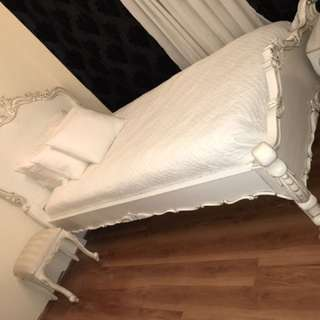French Style Bed And Furniture