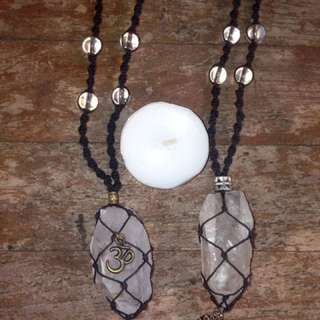 Quartz Adjustable Fit Necklaces