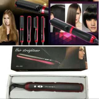 ASL 908-Fast Hair Straightener Comb Brush