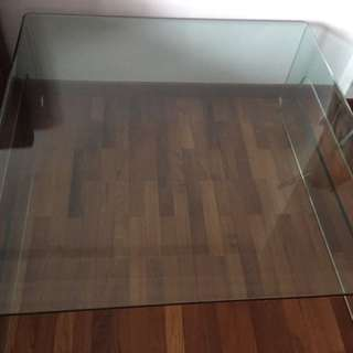 FREE! All Glass Coffee Table