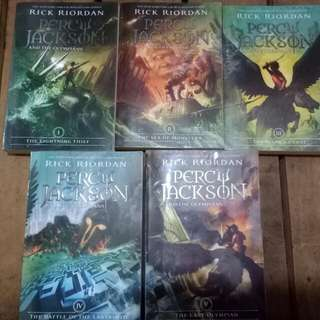 Percy Jackson and the Olympians (COMPLETE)