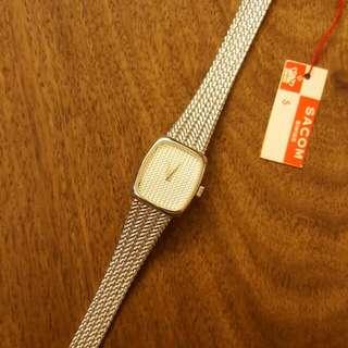 70年代瑞士沙琴Sacom,機械女裝手錶