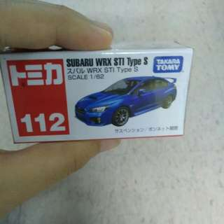 BNIB Subaru WRX STI Type S #112
