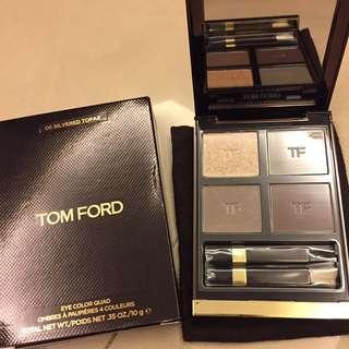 《全新正品》TOM FORD四色眼影 #5 Silvered Topaz