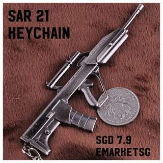(PO) Gun Keychain SAR 21 SAR21
