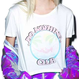do nothing club shirt 🌴🍹