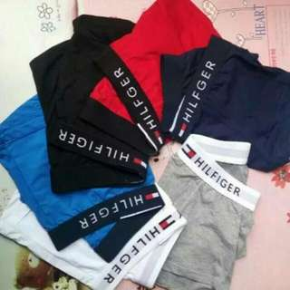 Tom男士純棉內褲四角褲超值3件入   黑 白 灰 深藍 淺藍 紅色  尺吋 M L XL XXL 非ARMANI ($)680