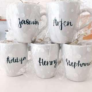 Customised / Personalised Name Mugs V.2