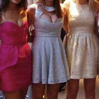 Alice McCall Blue Lace Dress Size 8