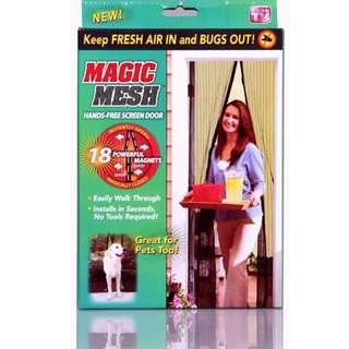 < PROMO > Magic Mesh Magnetic Door Screen