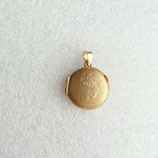 14k585gold Locket Pendant