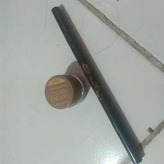 Lanbis 2 In 1 Lasting Perfect Eyebrow Cream And Eyeliner