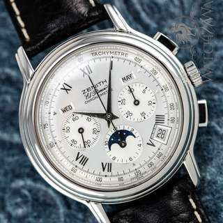 Looking For: Zenith El Primero Chronomaster Triple Date