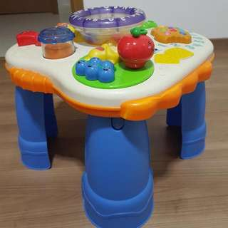 Fisher Price Activity Musical Table (Preloved)