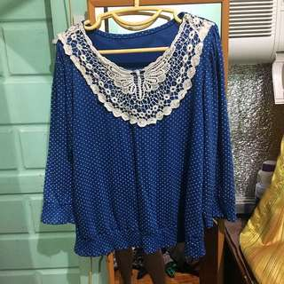 Blouse Blue (small)