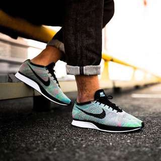 Nike Flyknit Racer Multi Color Size Us 8