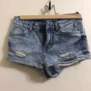 TOPSHOP Hallie Shorts