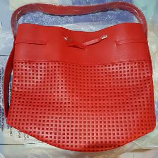 Brand New Red Bucket Bag