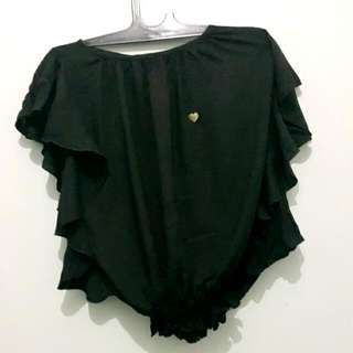 Surfer Girl Batwing Top