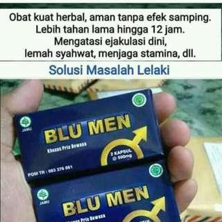 Blu Men  Obat Kuat Untuk Pria Sejati