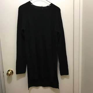 Sirens Black Sweater Dress