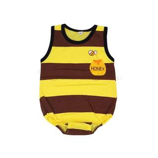 Honey Bee Sleeveless Bodysuit