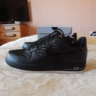Nike Air Force 1 mens shoes, size 10.5 US, brand new in box