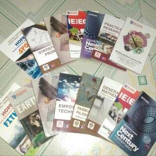 GRADE 11 STEM BOOKS SLIGHTLY USED
