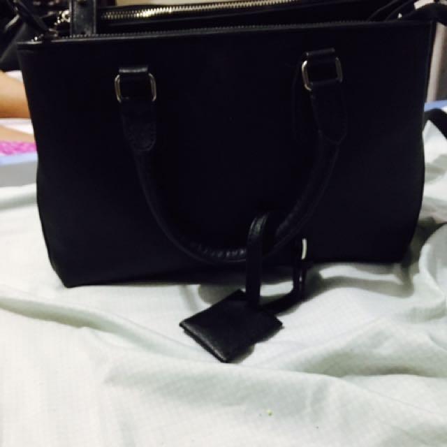 2 Way Black Bag