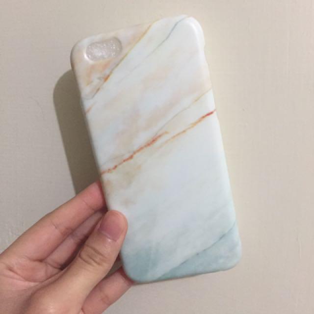 簡約時尚仿大理石紋手機殼