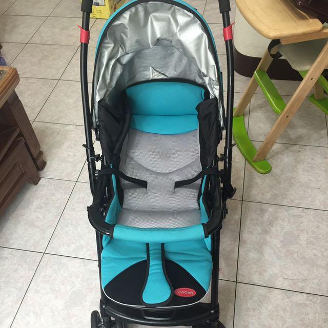 美國欣康嬰兒雙向推車