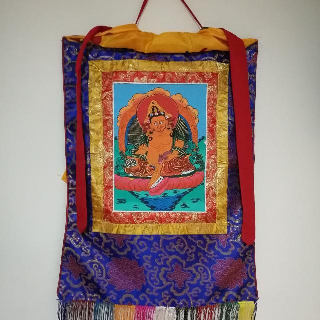 西藏手繪,刺繡唐卡掛畫