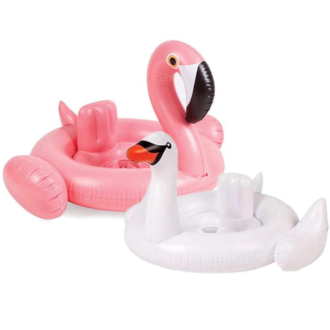 兒童泳圈 火烈鳥 泳圈 現貨 買兩個送充氣筒修補包 創意泳圈 火烈鳥泳圈 白天鵝泳圈 火鳥 天鵝 夏天 (單入)